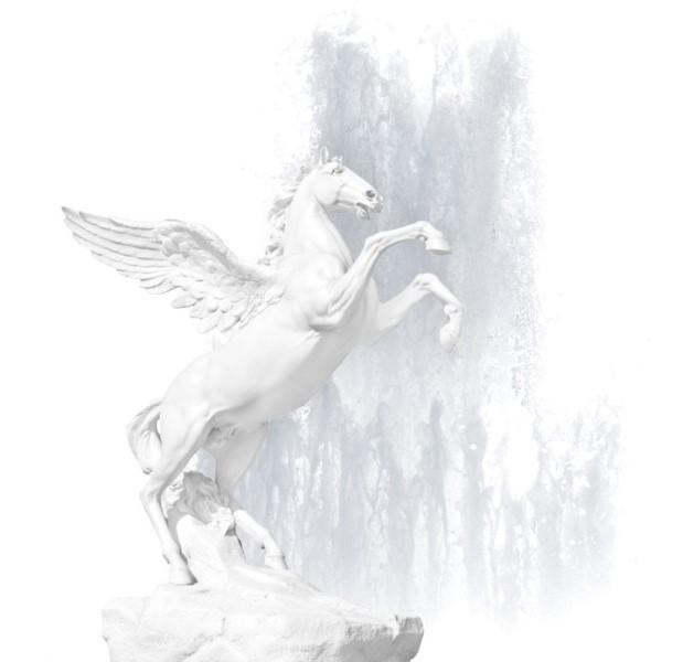 Cheval ailé mythique Pégase